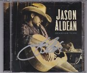 Jason Aldean Rearview Town Signed Cd Very Rare Autographed Country