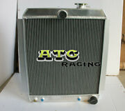 Aluminum Alloy Radiator Fits For Chevrolet Chevy Pick Up Truck At 1948-1954 53
