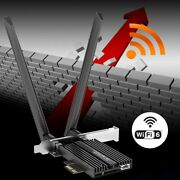 3000mbps Dual Band Wifi 6 Pci-e Pci Express Network Card Adapter Wireless V5.0