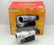 Canon G1000e Camcorder Boxed 8mm Video Analogue Video8 Tape G1000
