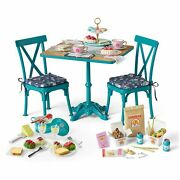 American Girl Truly Me Ultimate Foodie Bundle Teatime Table Spaghetti Takeout