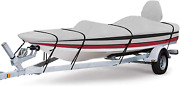 Rvmasking 800d 100 Waterproof Boat Cover For V-hull Runabouts And Bass Boats
