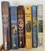 Mercedes Lackey Lot Of 6 Vows And Honor Series And Mage Winds Trilogy Hardcover