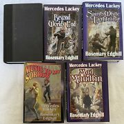 Mercedes Lackey Lot Of 5 Elves On The Road Bedlam Bard Series Hardcover