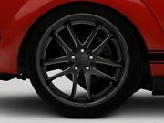 Rovos Cape Town Rear Wheel In Satin Black 20x10 Fits All Ford Mustang 2005-2009