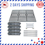 Store Parts Kit For Charbroil Gas Grill Ss Burner Over Tube Porcelain Steel Heat