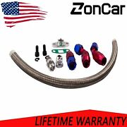 -10an Turbo Steel Oil Drain Return Line Assembly For T3 T4 T04e T70 T60 T61 An10