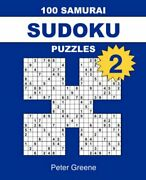 100 Samurai Sudoku Puzzles 2 By Greene Peter Paperback Book The Fast Free