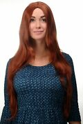 Quality Wig Red Copper Red Smooth Middle Part Parting 31 1/2in Long 3217-130