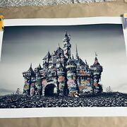 Castle Ruins Giclee Print Ap Hand Finished Roamcouch Jeff Gillette