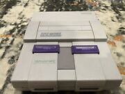 Snes Classic, With 2 Controllers And 2 Games, And Tested And Played