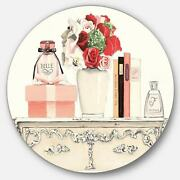 Designart And039roses Fragrance And Glamorous Belle Parfumand039 Glam Small
