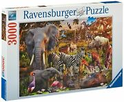 3000 Pieces Jigsaw Puzzle Ravensburger African Wildlife /17037/