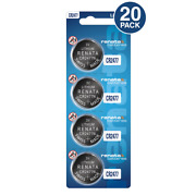 Cr2477n 3v Lithium Coin Cell Batteries 20 Count - Tracking Included