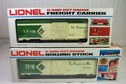 Lionel 9428 Tpandw One Of A Kind Prototype Box Car From The Lionel Archives Unrun