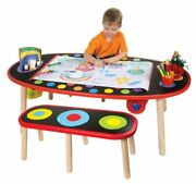 Alex Toys Super Art Table With Paper Roll Kids Art Supplies