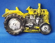 Yellow Vintage Tractor - Vehicle Resin Refrigerator Magnet Sale