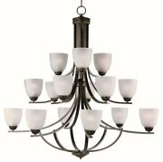 Axis - Fifteen Light 3-tier Chandelier - 43 Inches Wide By 40.25 Inches High