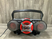 Sony Xplod Cd / Radio / Cassette / Mp3 Input Boombox Cfd-g700cp No Remote
