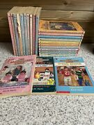 Lot Of 24 Babysitters Club Books Vintage Ann M Martin Special Edition Paper Back