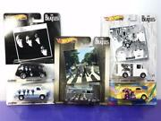 Seven Limited Hot Wheels The Beatles Set Of Items