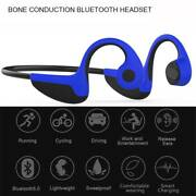 Bluetooth Headset Bone Conduction Headphone Earphone With Mic For Iphone Android