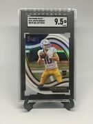 20/21 Select Justin Herbert White Prizm Field Level Die-cut Rc 344 Chargers Ssp