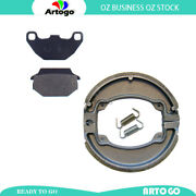 Motorcycle Front+rear Brake Pads For Kymco Looker 125 S Ba25ba Jp 2007 2008