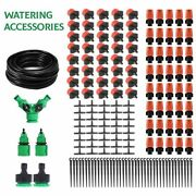 Garden Plant Watering Kits Greenhouse Automatic Drip Irrigation Water System