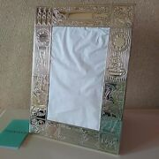 And Co. 925 Sterling Silver Baby Picture Frame 5 X 7/12.5cm X 17.5cm