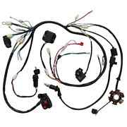 Electric Stator Gy6 125 150cc Wiring Harness Magneto Coil Cdi Solenoid Quad Atv