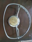 Steering Wheel Parts From 1950's Mercedes Benz Auto Original Hard To Find Chrome