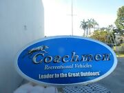 Coachmen Recreational Vehicalsleader To The Great Outdoors Embossed Co.rv Sign