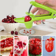 Green Cherry Pitter Olive Seed Corer Remover Handheld Kitchen Machine Canning Wd