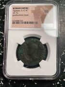 After 12 Bc Ancient Rome Agrippa Ae As Ngc Vg Lotg1001