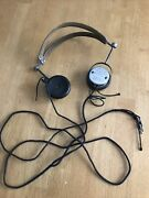 Antique Federal Telephone And Telegraph Co Headphones 53-w 2200 Ohm Crystal Radio