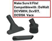 1-1/4 Inch Household Cleaning Kit Attachments Read Photo Fits Your Shop-vac