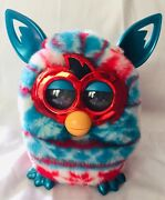 2012 Christmas Furby Red White Blue Festive Sweater Interactive Talking Toy Rare