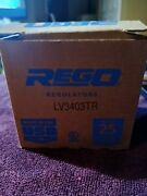 Rego Regulators Lv3403tr, Compact First Stage Reglator 1/4 Npt In, 1/2 Npt Out