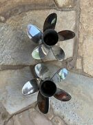 Mercury Maximus Boat Propellers 48-889965 [15 5/8 X 26 P] Right And Left Hand