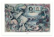 Lauren Tsai 'marlowe And Waking' Art Poster Print Signed And Numbered 9/400 New