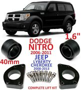 Lift Kit For Dodge Nitro 06-11 And Jeep Liberty 08-13 1.6 40mm Strut Spacers