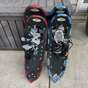 Atlas 1033 Snowshoes Great Condition With Carry Bag Free Shipping🔥