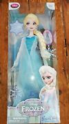 New Disney Store Frozen First Edition Singing Elsa Light Up 16 Doll Boxed 2013