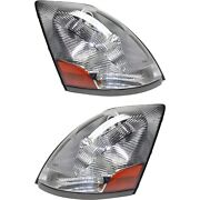 Headlight Set For 2006-2012 Volvo Vt Left And Right With Bulb 2pc