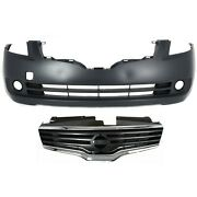 62070zn50a 62022ja040 New Set Of 2 Grille Grill Front Sedan For Altima Pair