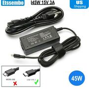 45w Usb Type C Charger Adapter Compatible With Acer Chromebook Spin 13 15 Cp713