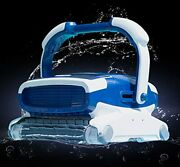 Metalix Aquabot Elite Robotic Pool Cleaner With Caddy Included, Triple Scrubbing