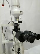 2 Step Slit Lamp Haag Streit Type With Accessories Ophthalmology Free Shipping A