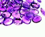 12x16 Mm Oval Faceted African Amethyst 100 Natural Amethyst Loose Gemstone